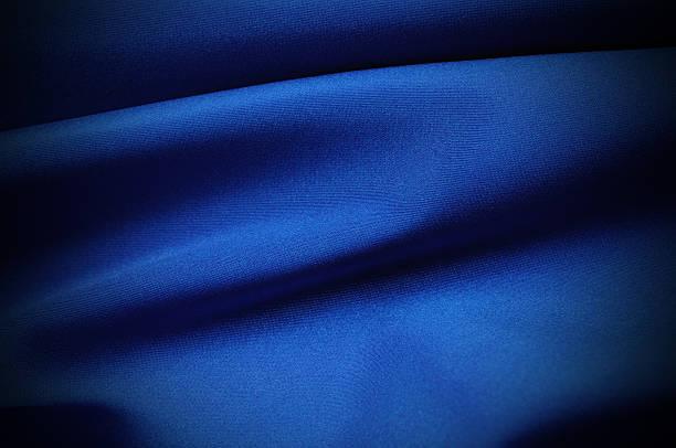 en satin bleu - concave photos et images de collection