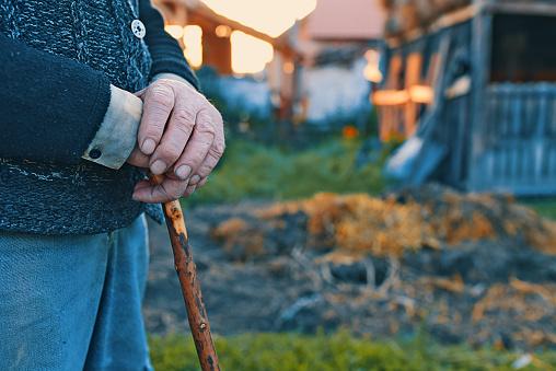 남자의 전통적인 지팡이에 근접 80-89세에 대한 스톡 사진 및 기타 이미지