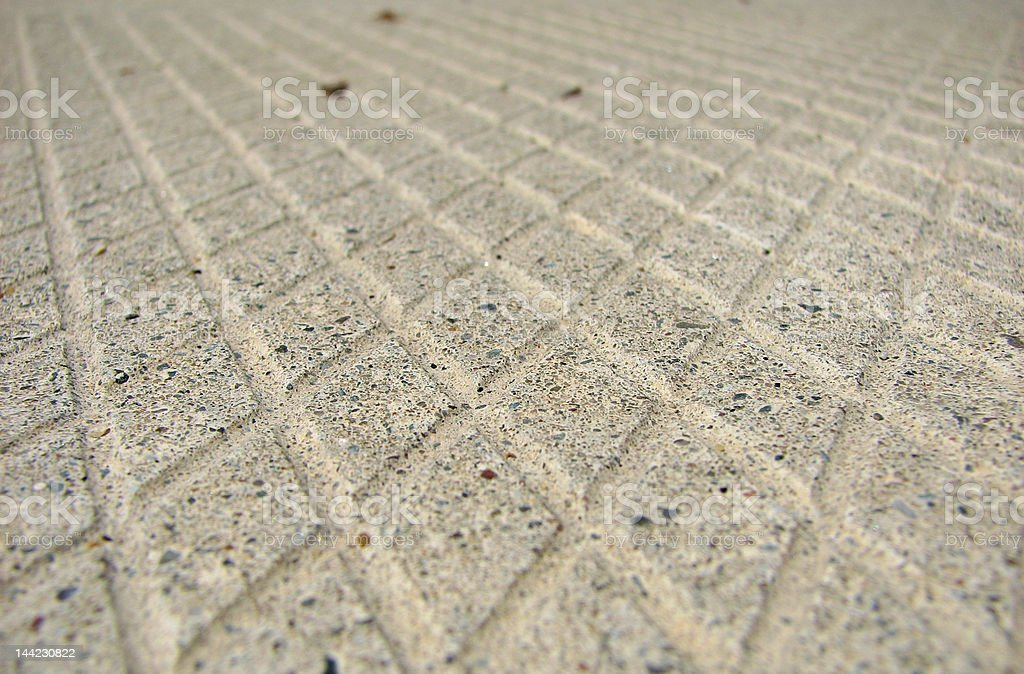Close-up on a tile royalty-free stock photo