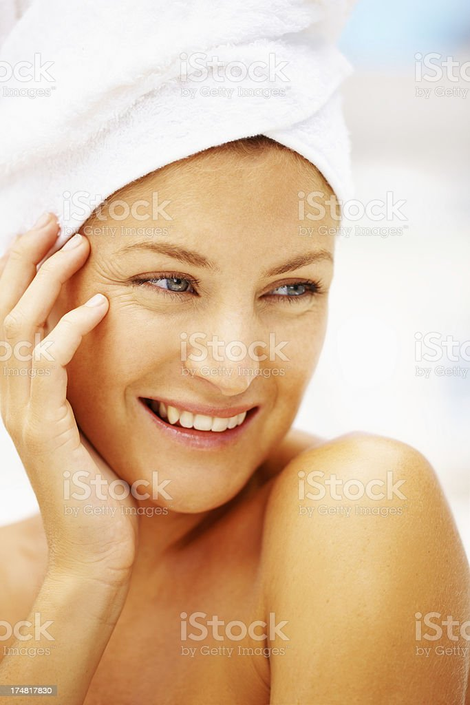 Closeup on beauty royalty-free stock photo