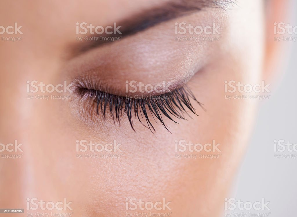 Closeup on perfection stock photo