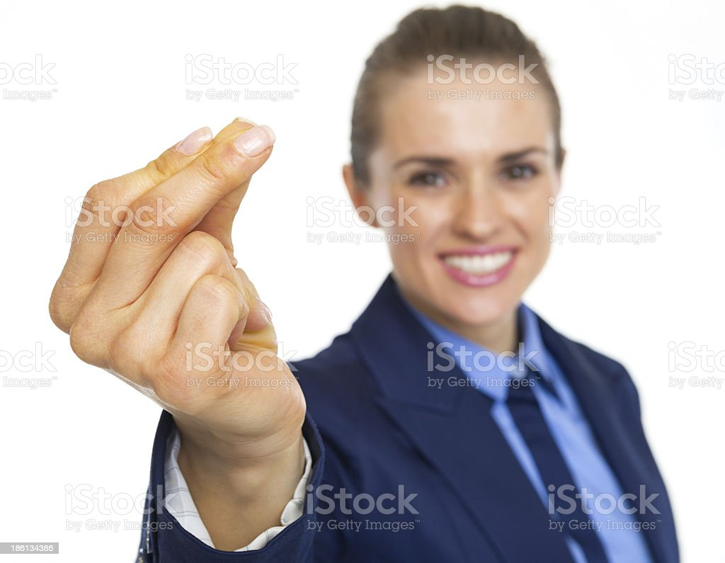 Closeup on snapping fingers stock photo