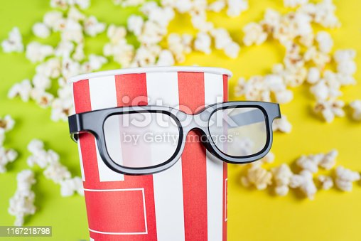 956942702 istock photo Closeup photo of comic humorous joking proud serious face expression behaving like a small little kid wearing black big specs isolated vivid background 1167218798