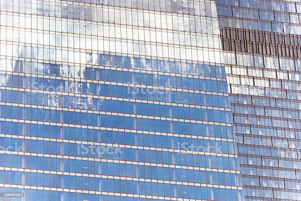 Closeup photo of skyscrapers facade Lizenzfreies stock-foto
