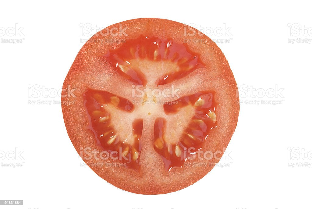 Closeup photo of tomato stock photo