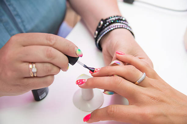 1,655 Nail Technician Stock Photos, Pictures & Royalty-Free Images - iStock
