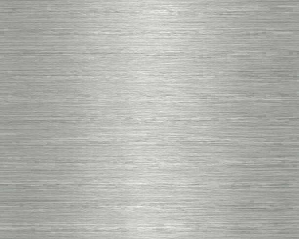 Close-up photograph of a metal surface High resolution Brushed metal texture abstract background brushed metal stock pictures, royalty-free photos & images