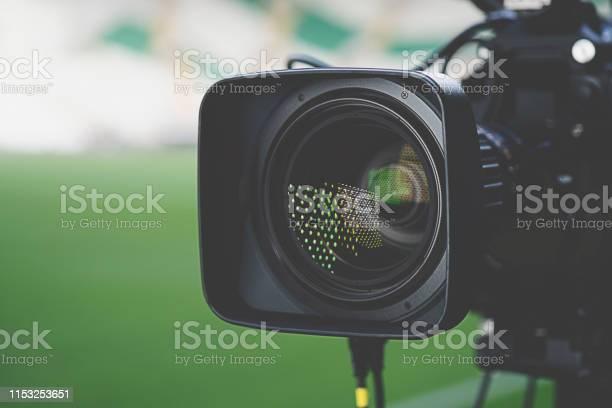 Closeup picture of a professional tv camera before broadcasting picture id1153253651?b=1&k=6&m=1153253651&s=612x612&h=1ljj1vt dolregdmy7ign4kaz59lltedsfkdb0vfbuu=