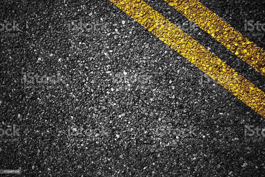 Closeup picture of road texture stock photo