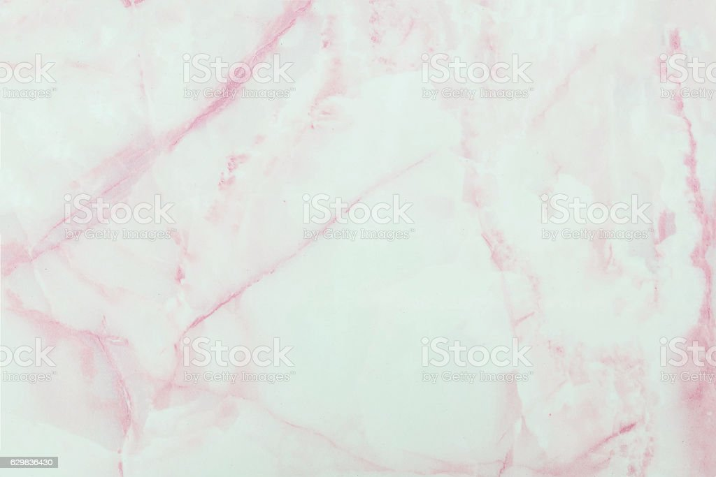 Closeup pink marble stone floor texture background