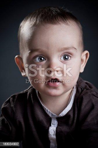 185267233 istock photo Closeup portrait of a baby boy 183034902