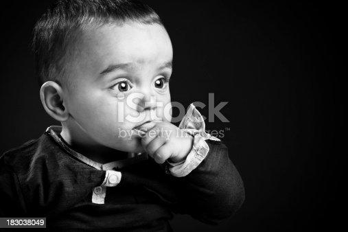 185267233 istock photo Closeup portrait of a baby boy 183038049
