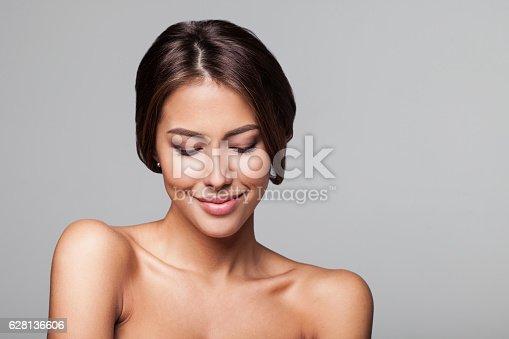 628536910 istock photo Close-up portrait of beautiful women 628136606
