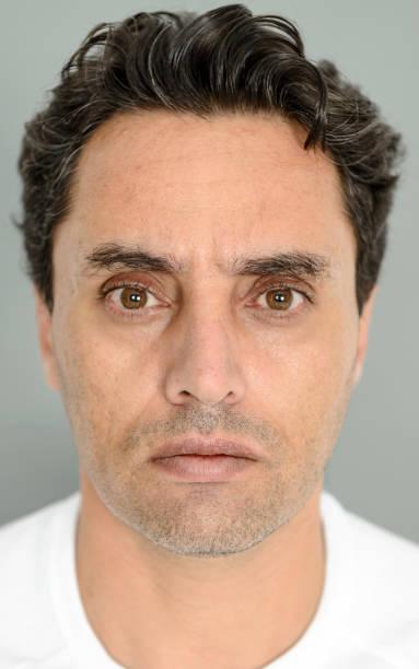 Close-up portrait eines Mannes – Foto