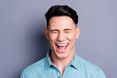 istock Close-up portrait of nice crazy cute lovely well-groomed positiv 1085205638