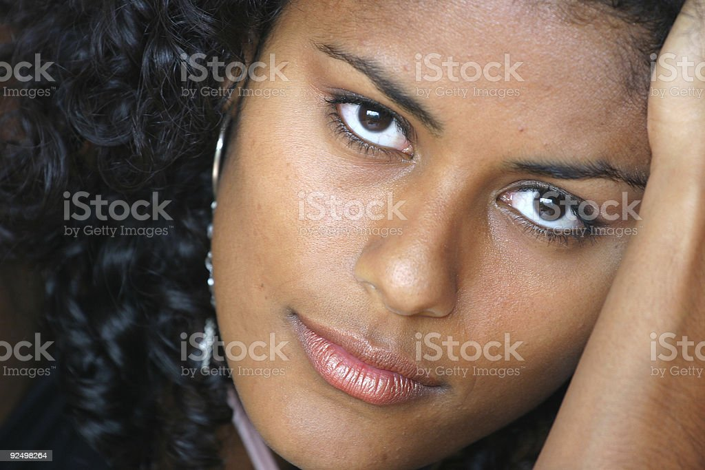 Closeup portrait royalty-free stock photo