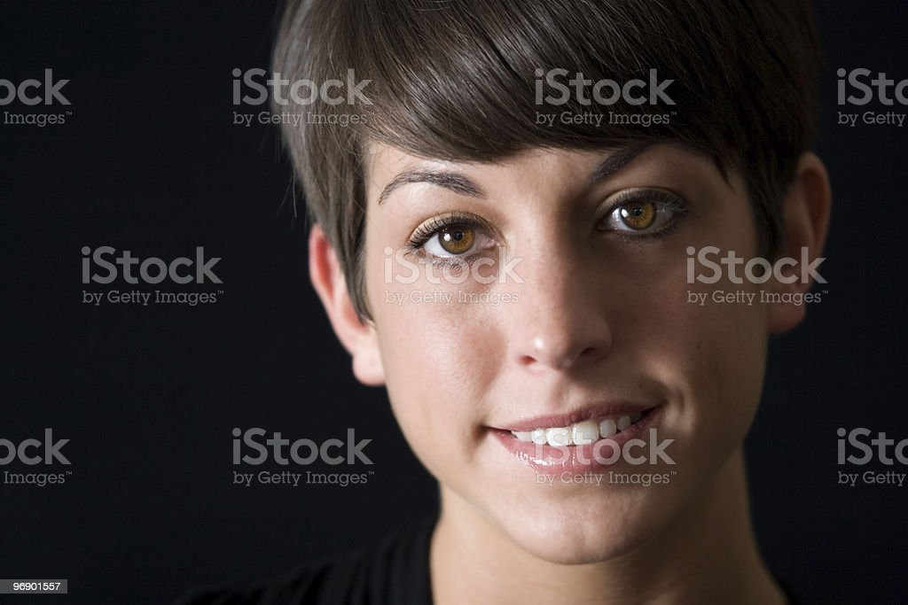 Close-Up Portrait royalty-free stock photo