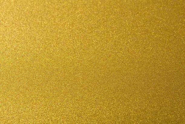 closeup shot of abstract golden background. - foil stock photos and pictures
