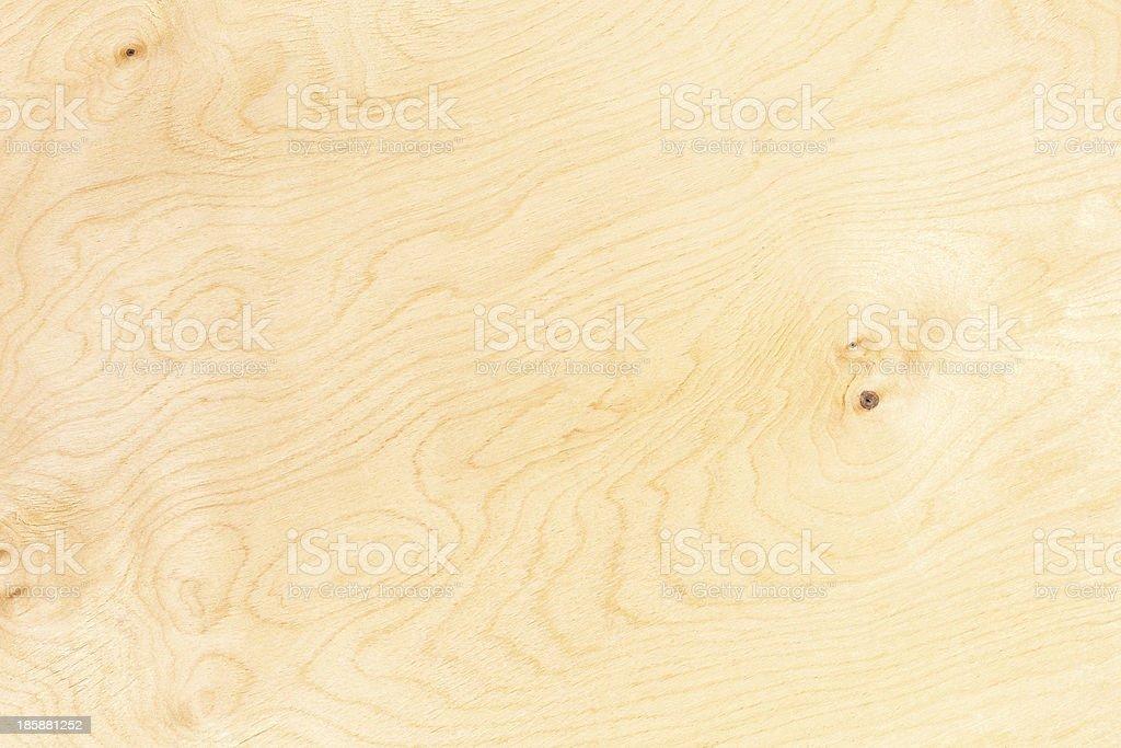 Close-up shot of cut Birch plywood stock photo