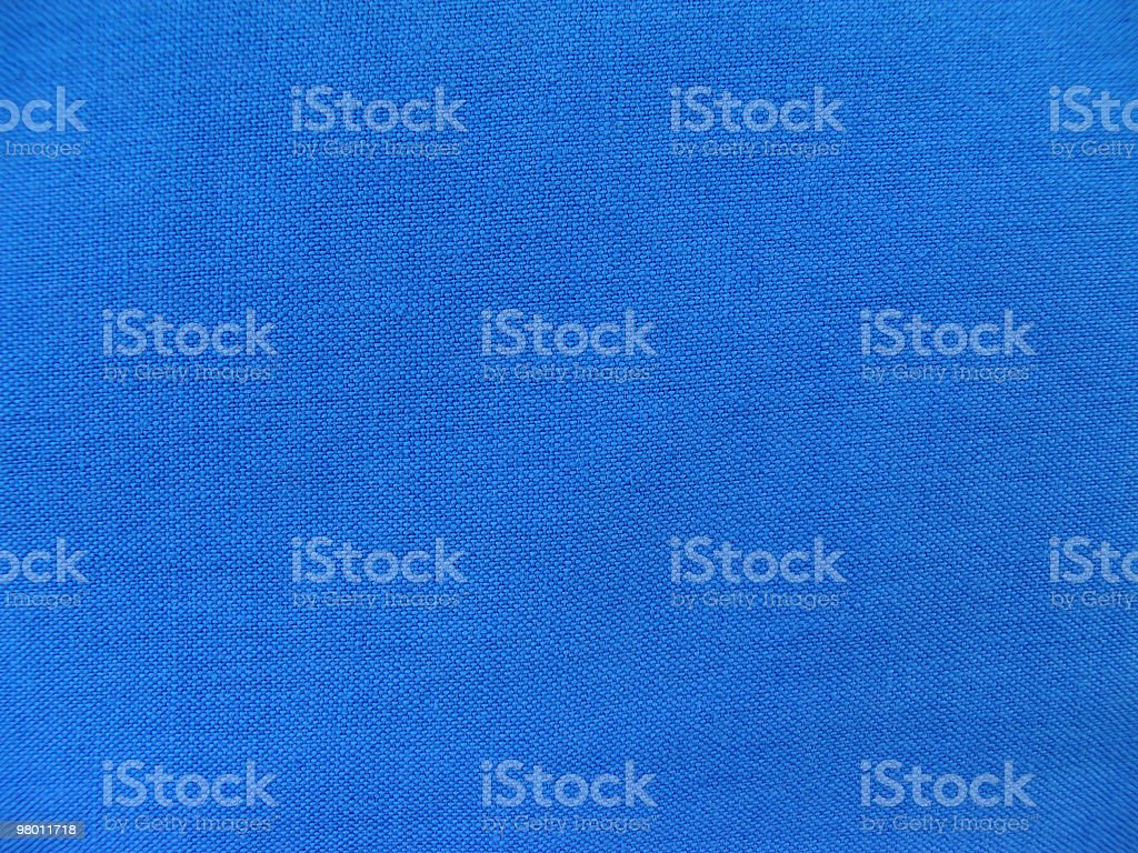 Close-up shot of deep blue fabric with rough texture royalty free stockfoto