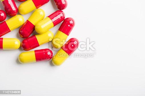 istock Closeup Shot of Medicine 1142134608