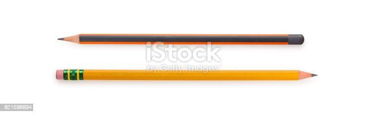 istock Close-up shot of pencils. 821598694