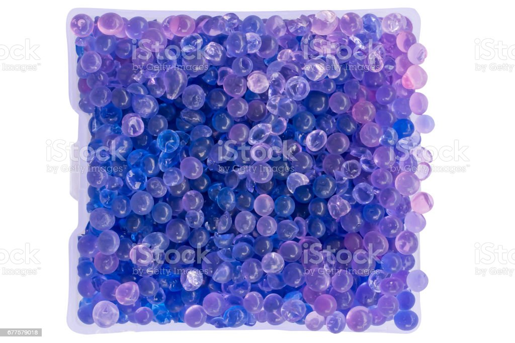 close-up silica gel in package royalty-free stock photo