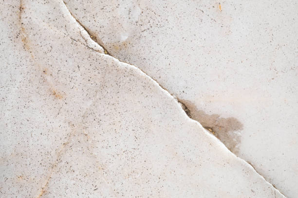 closeup surface cracked marble floor texture background - block shape stock pictures, royalty-free photos & images