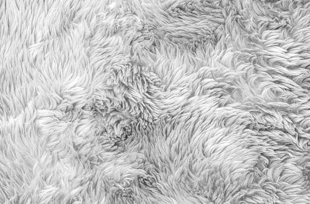Closeup surface gray fabric carpet texture background stock photo