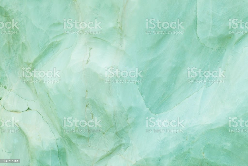 Closeup surface marble pattern at green marble stone wall texture background stock photo