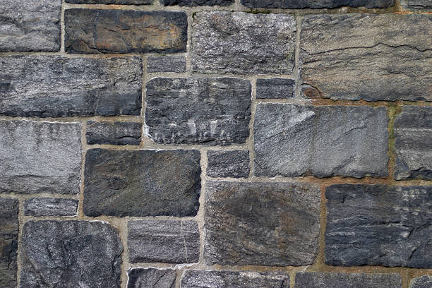 Closeup texture of stone tiles stock photo