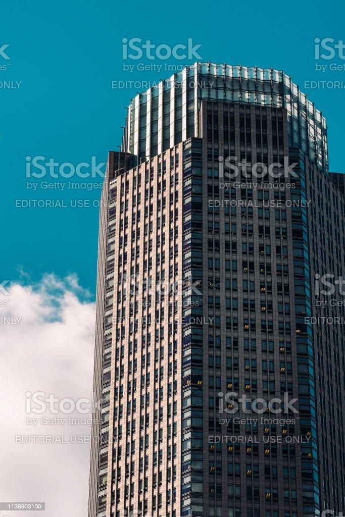 383のクローズアップビューミッドタウンマンハッタンニューヨーク ...