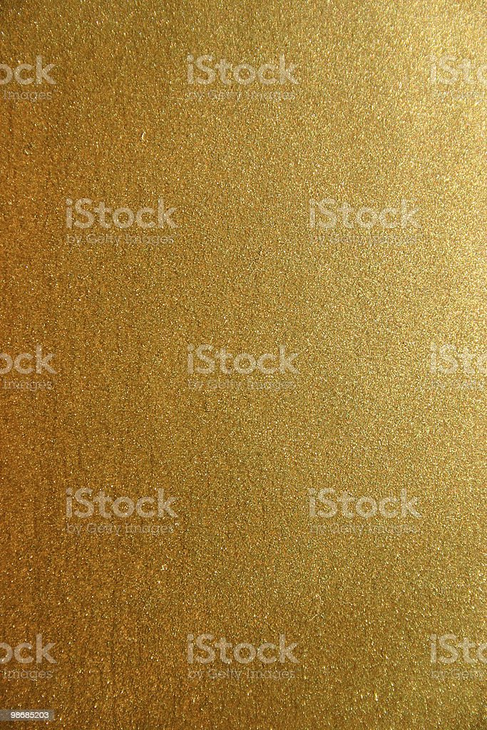 Closeup view of a gold pattern royalty-free stock photo