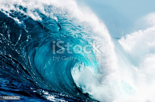 Raw ocean power, up close.