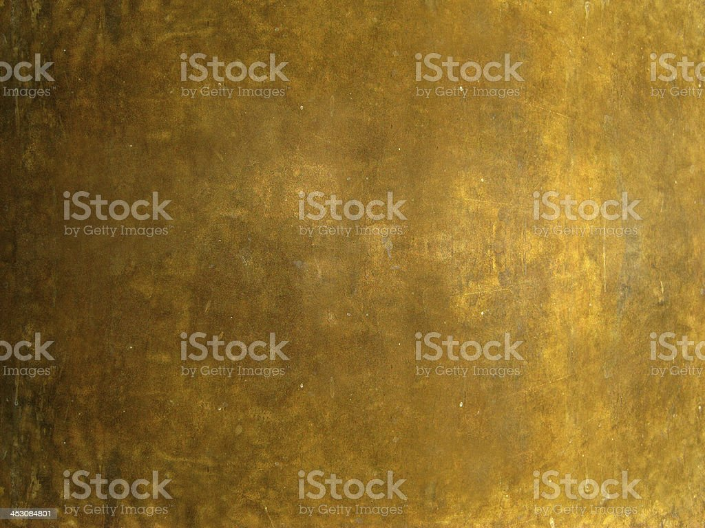 Close-up view of textured bronze metal stock photo
