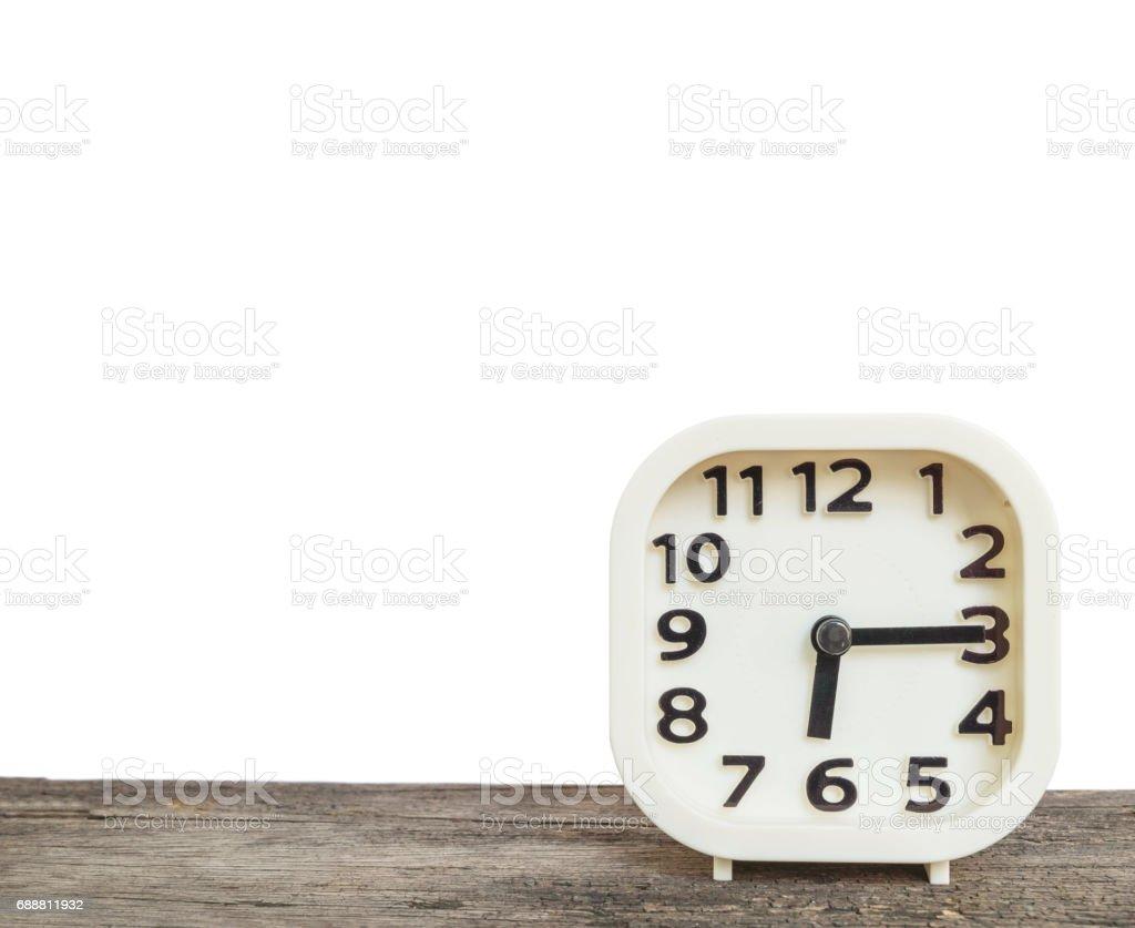 Fotografía de Reloj De Primer Plano Blanco Para Decorar Ver Un ...