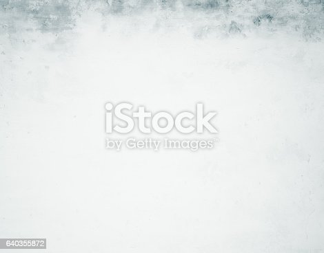istock Close-up white grunge old wall texture concrete cement background 640355872