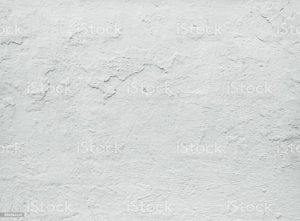 Close-up white grunge old wall texture, concrete cement background stock photo