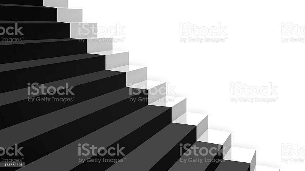 Photo Libre De Droit De Gros Plan Blanc Escaliers En