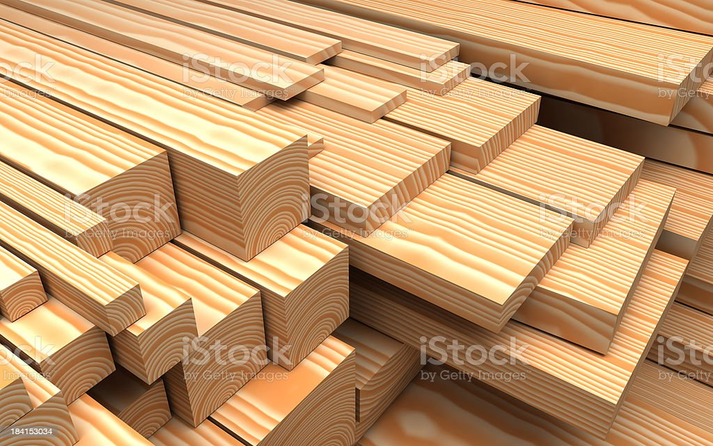 Close-up wooden boards royalty-free stock photo