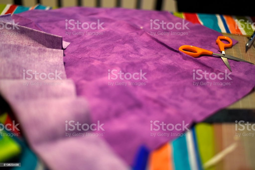 cloth and crafts stock photo