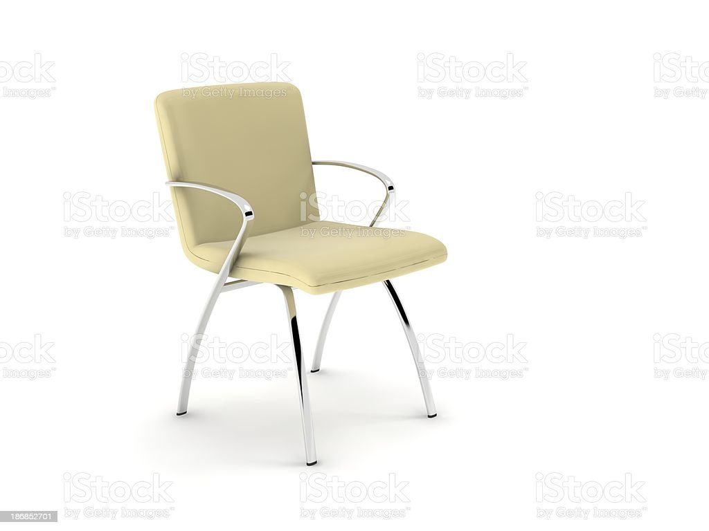 cloth chair stock photo
