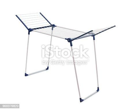 istock Cloth drying rack 955376820