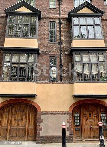 istock LONDON, ENGLAND. Cloth Fair street in City of London. 1327454117
