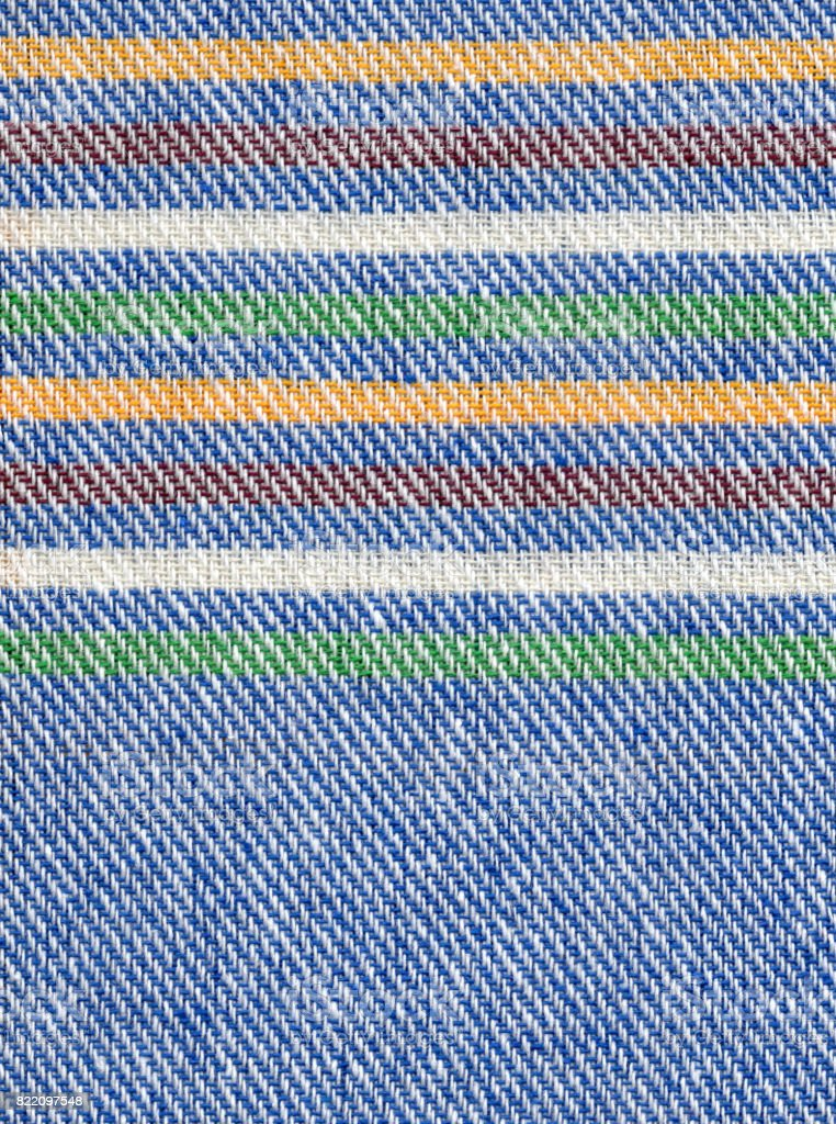Cloth in blue stock photo