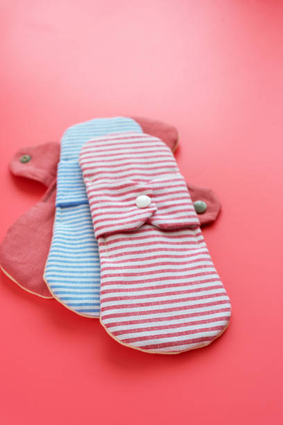 cloth menstrual pad - sanitary pad stock photos and pictures