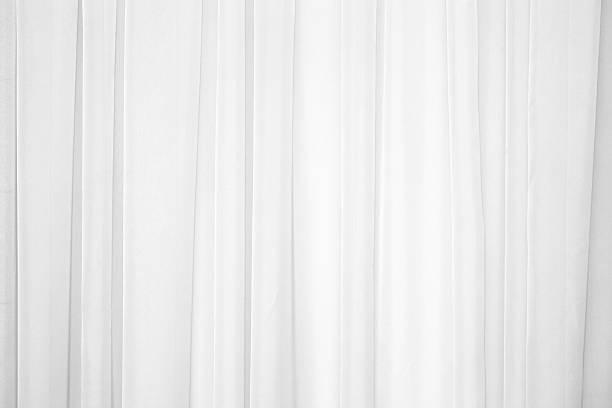 tuch  - gardinen weiß stock-fotos und bilder