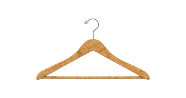 Clothe hanger isolated 3D Rendering Clothe hanger isolated 3D Rendering coathanger stock pictures, royalty-free photos & images