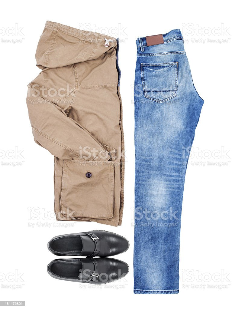 clothes collection stock photo