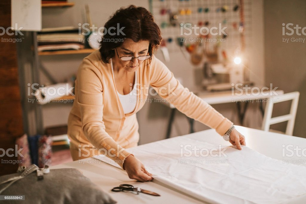 Clothes designer stock photo
